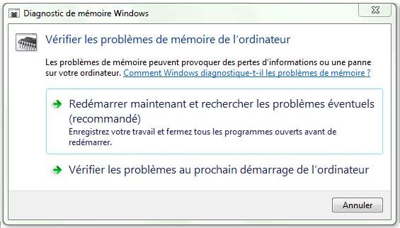 Problème de mémoire ordinateur
